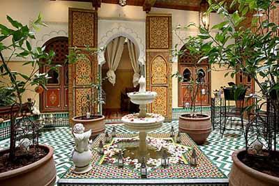 Riad maison do for Decoration des maisons marocaine